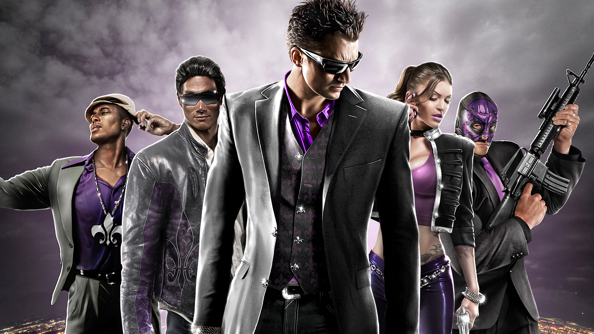 Wallpaper saints row: the third hd 2560x1600 hd picture, image.