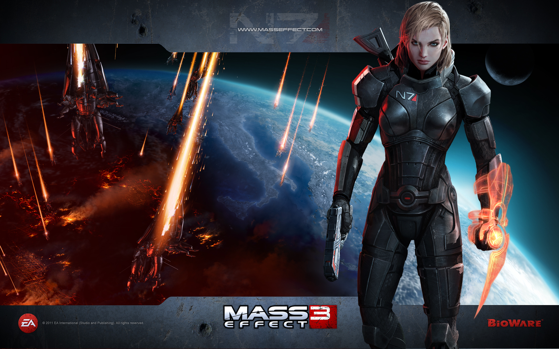Mass Effect 3 Girl 471.16 Kb