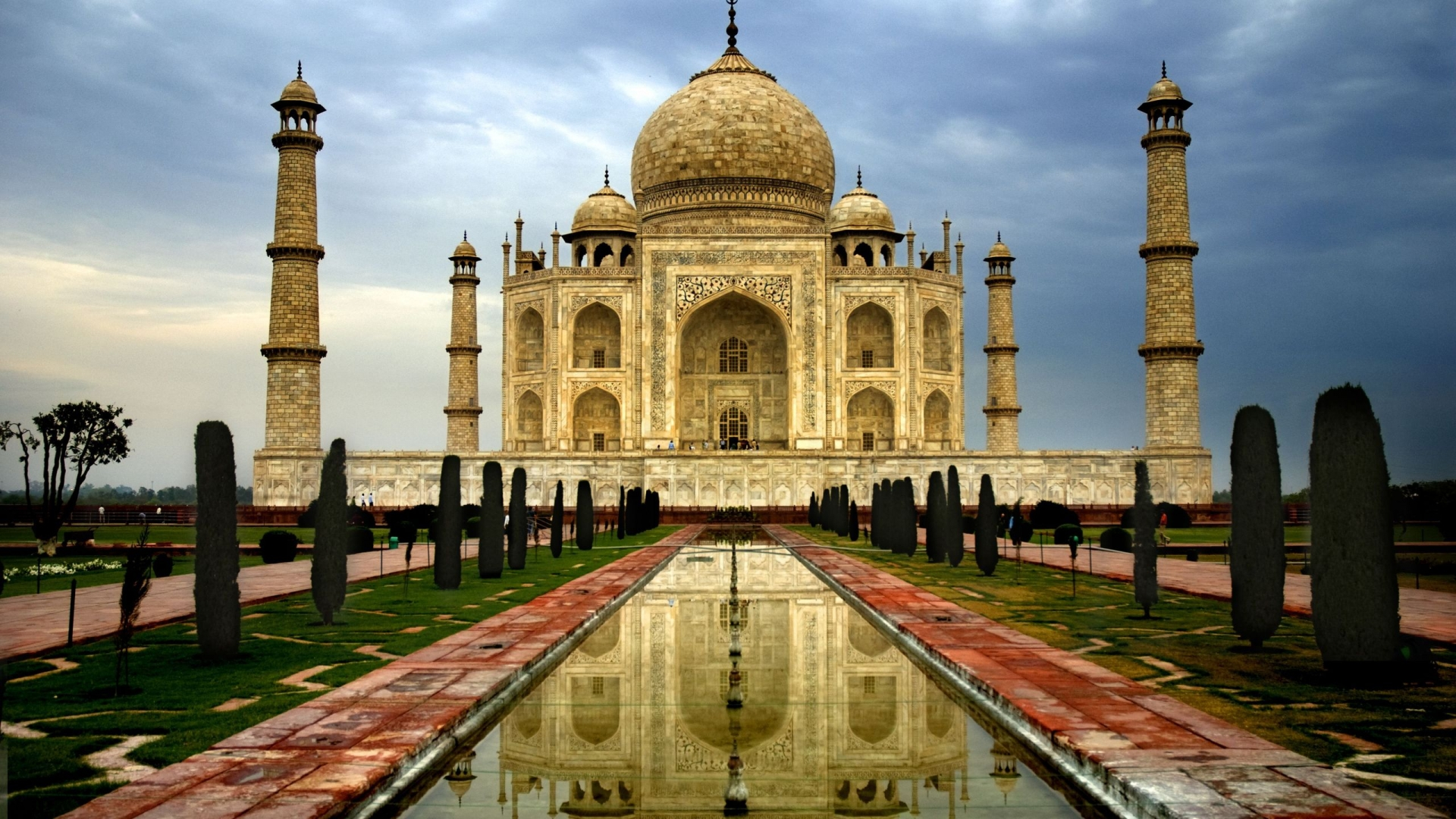 Taj Mahal India 375.76 Kb