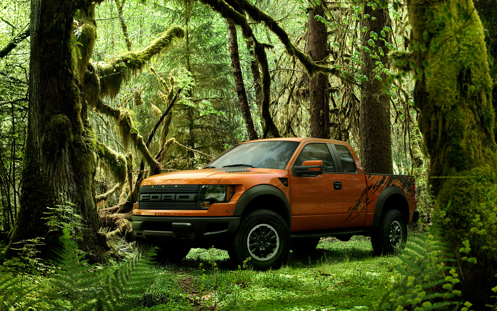 Ford Raptor 1792.44 Kb