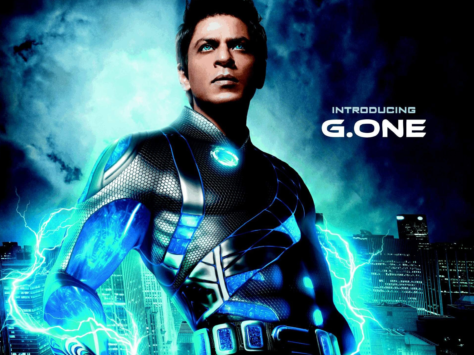 Shahrukh Khan in Ra One 61.69 Kb