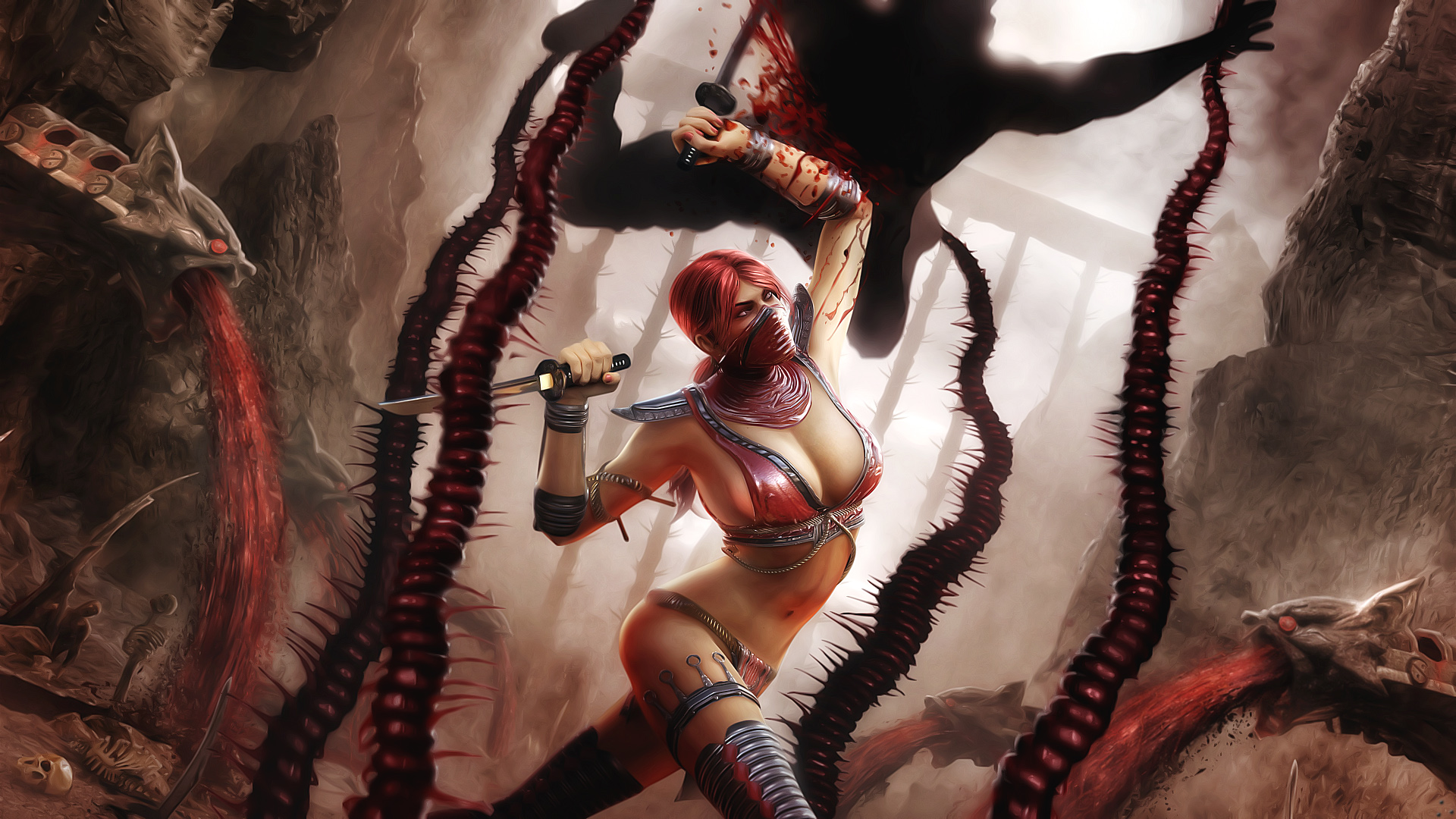 Skarlet in Mortal Kombat 654.17 Kb
