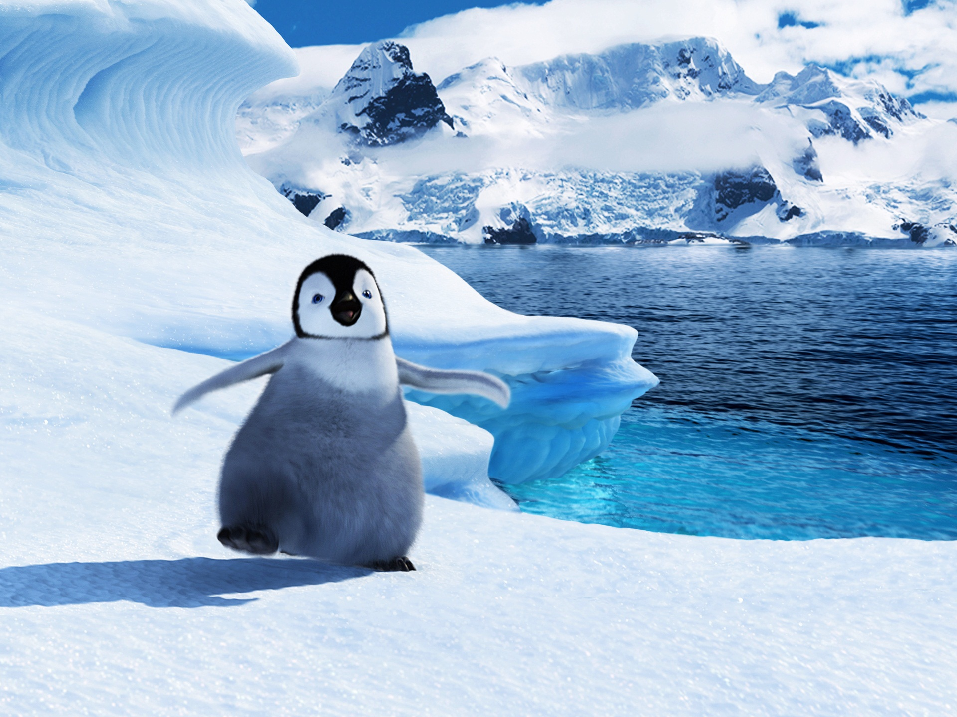 Baby Mumble in Happy Feet 2 375.29 Kb