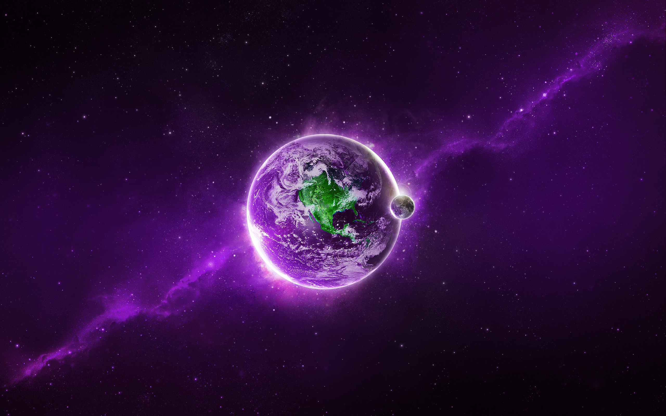 Purple Earth