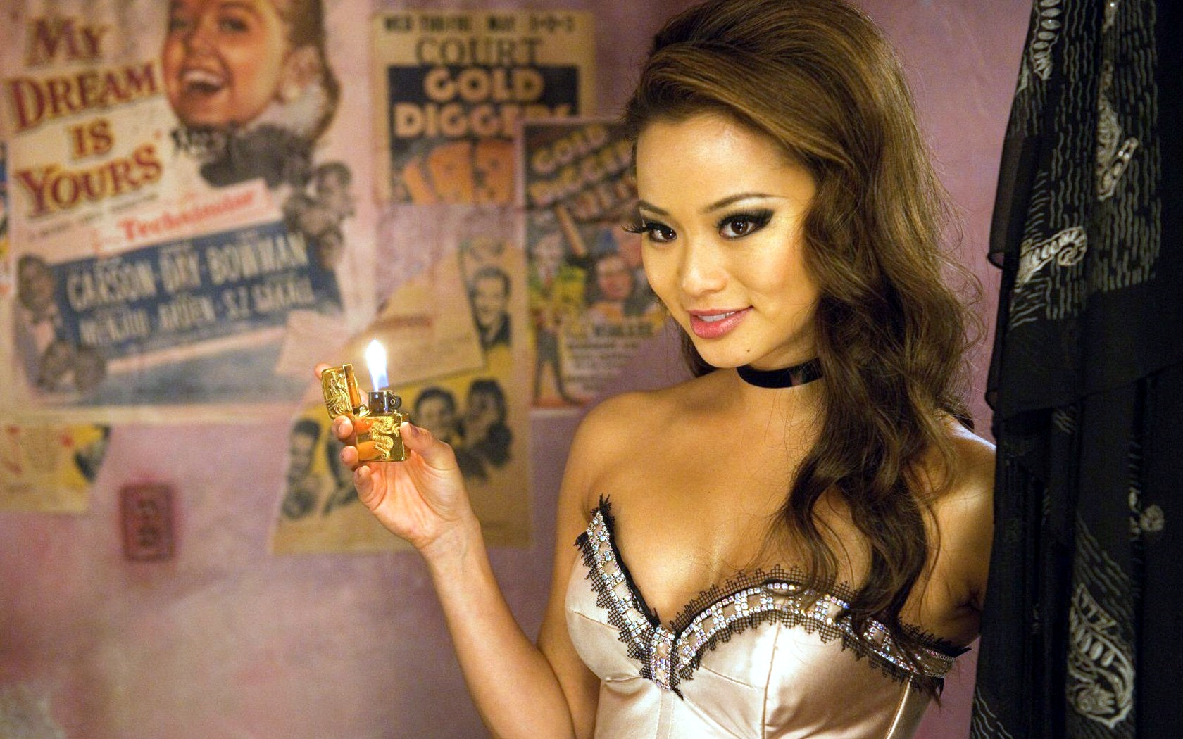 Jamie Chung as Amber in Sucker Punch