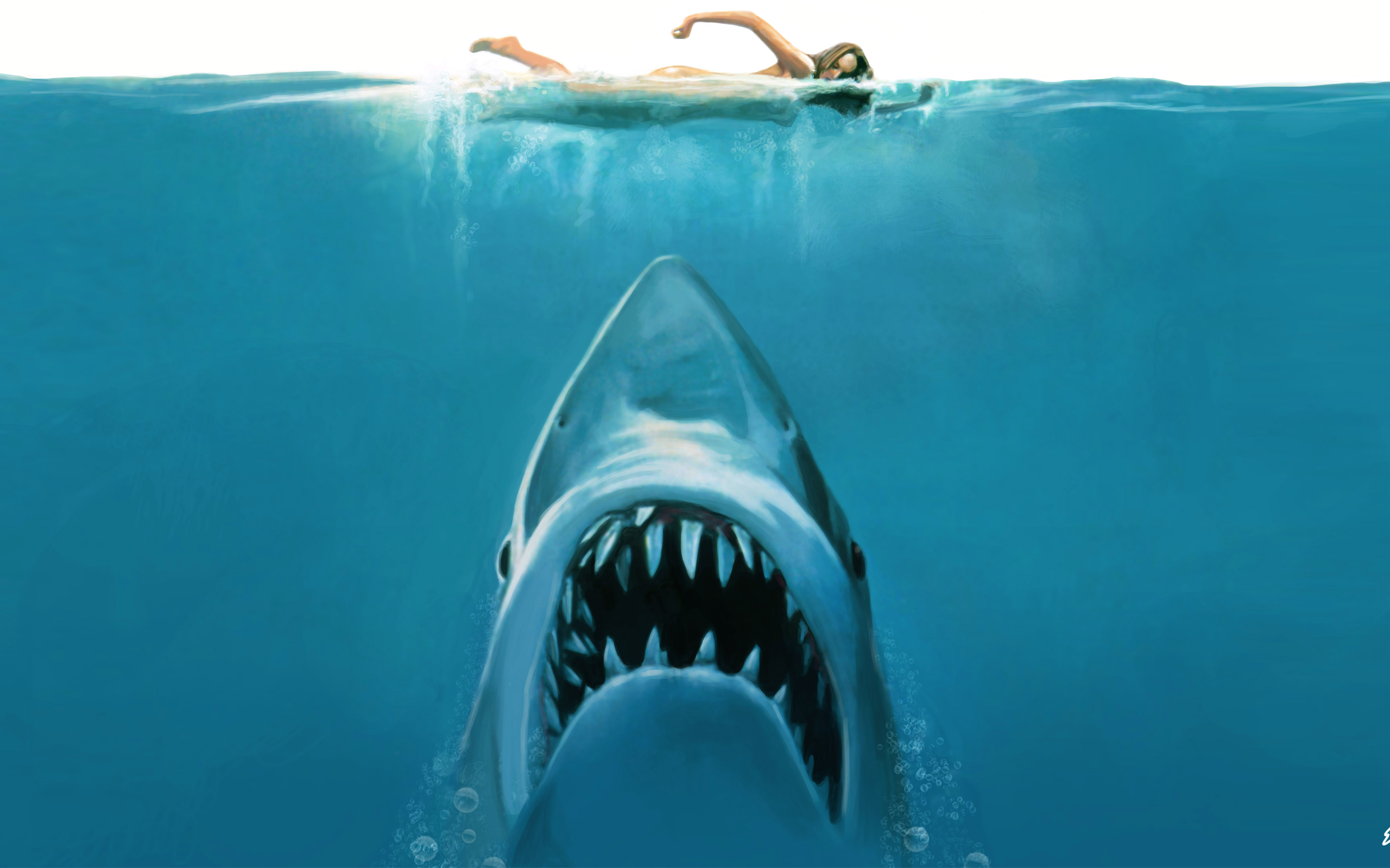 Jaws Movie Concept