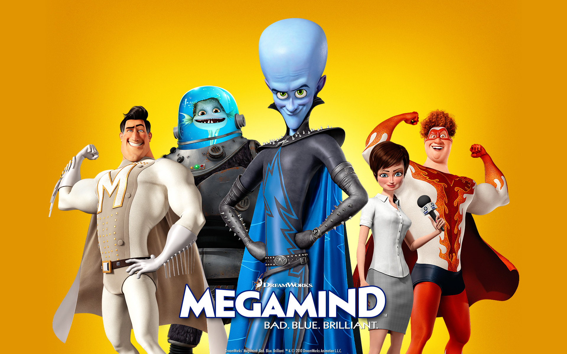 Bad Blue Megamind