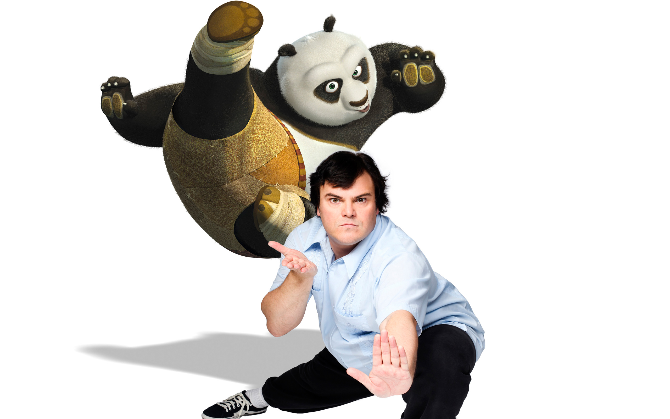 Jack Black as Panda 149.86 Kb