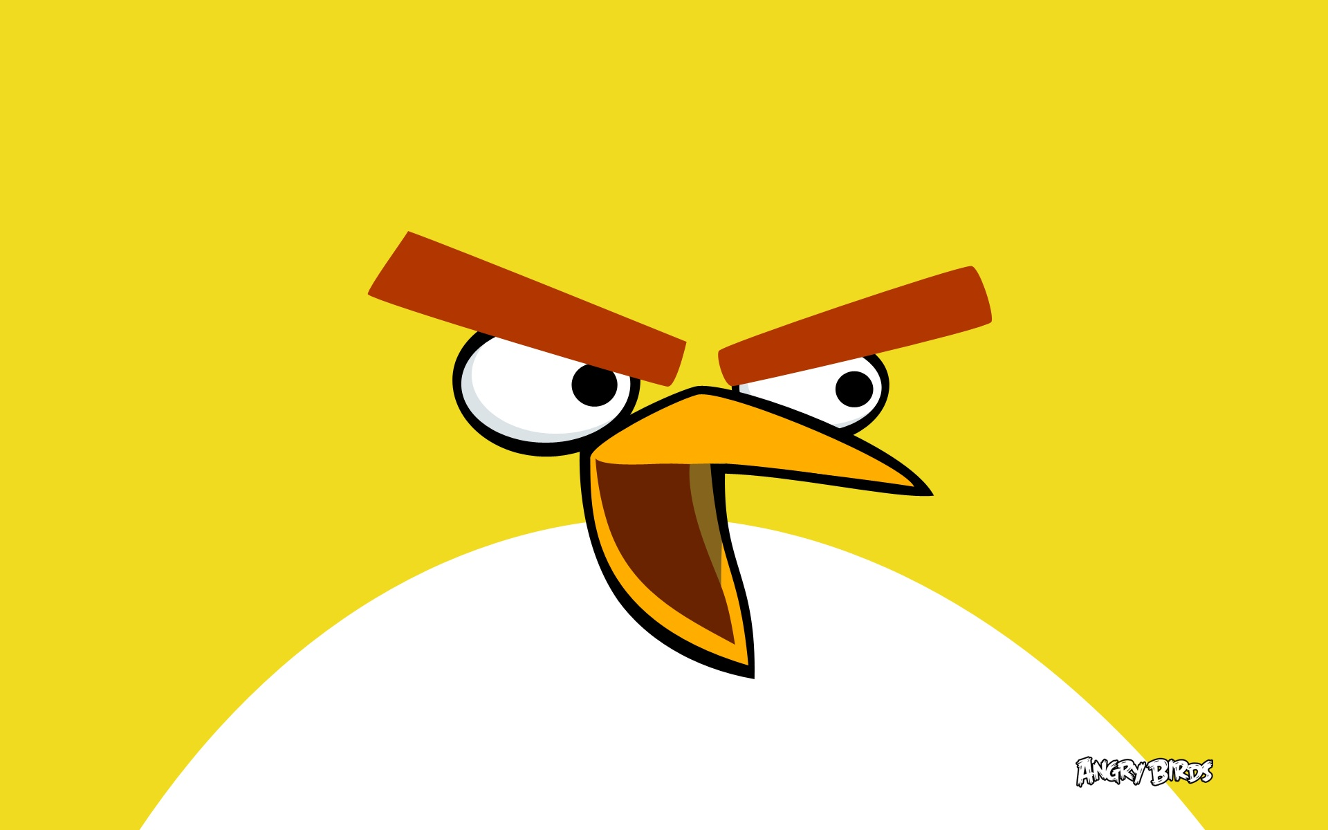 Yellow Bird in Angry Birds