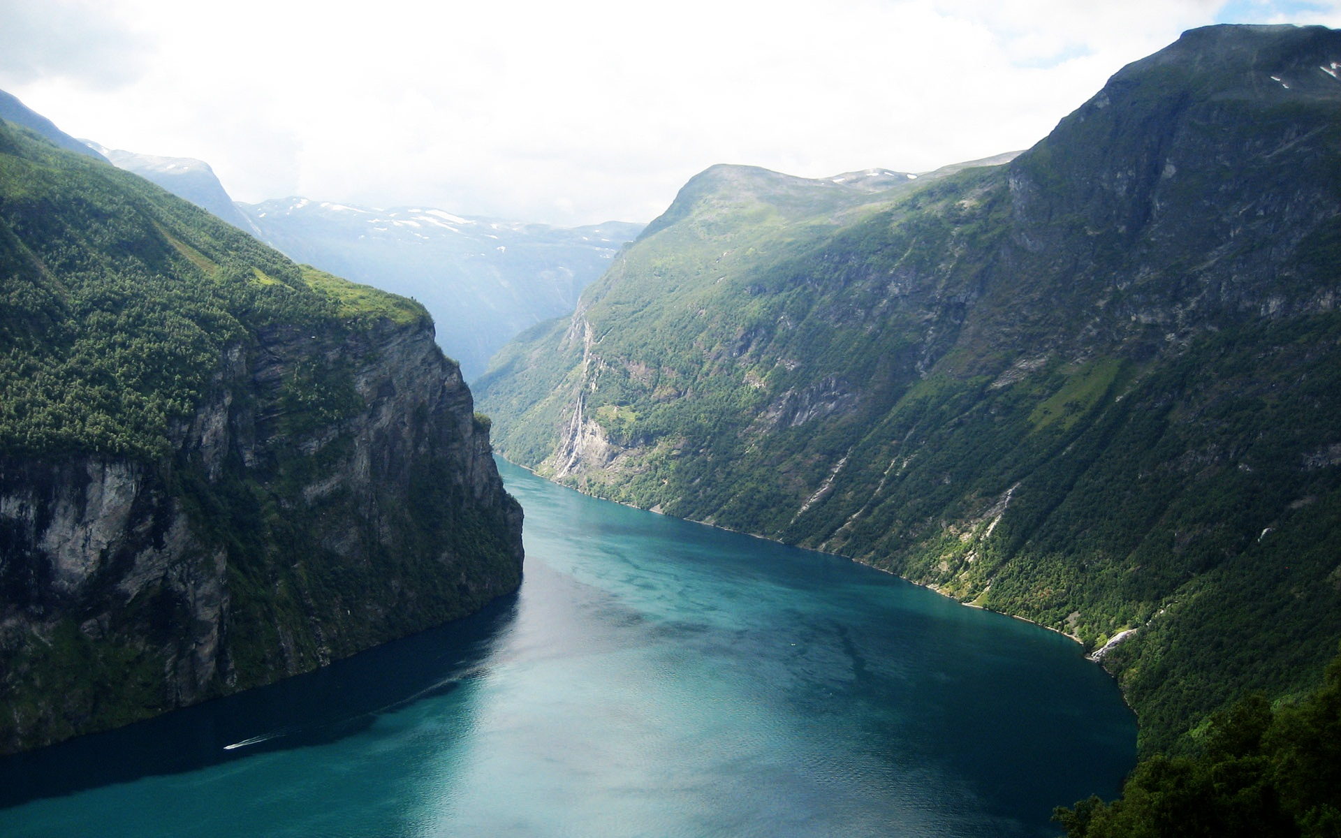 Beautiful Fjord Norway 3350.34 Kb
