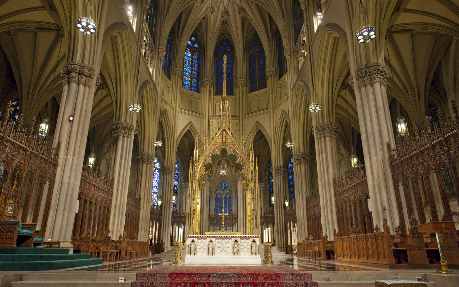 New York St Patrick Cathedral 373.41 Kb