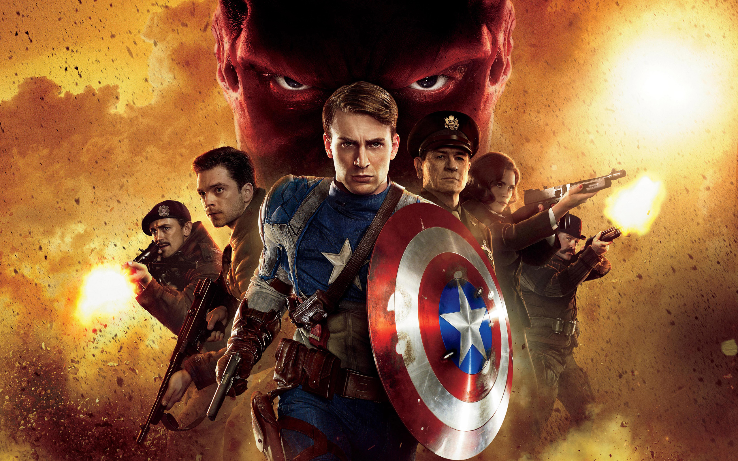 2011 Captain America First Avenger