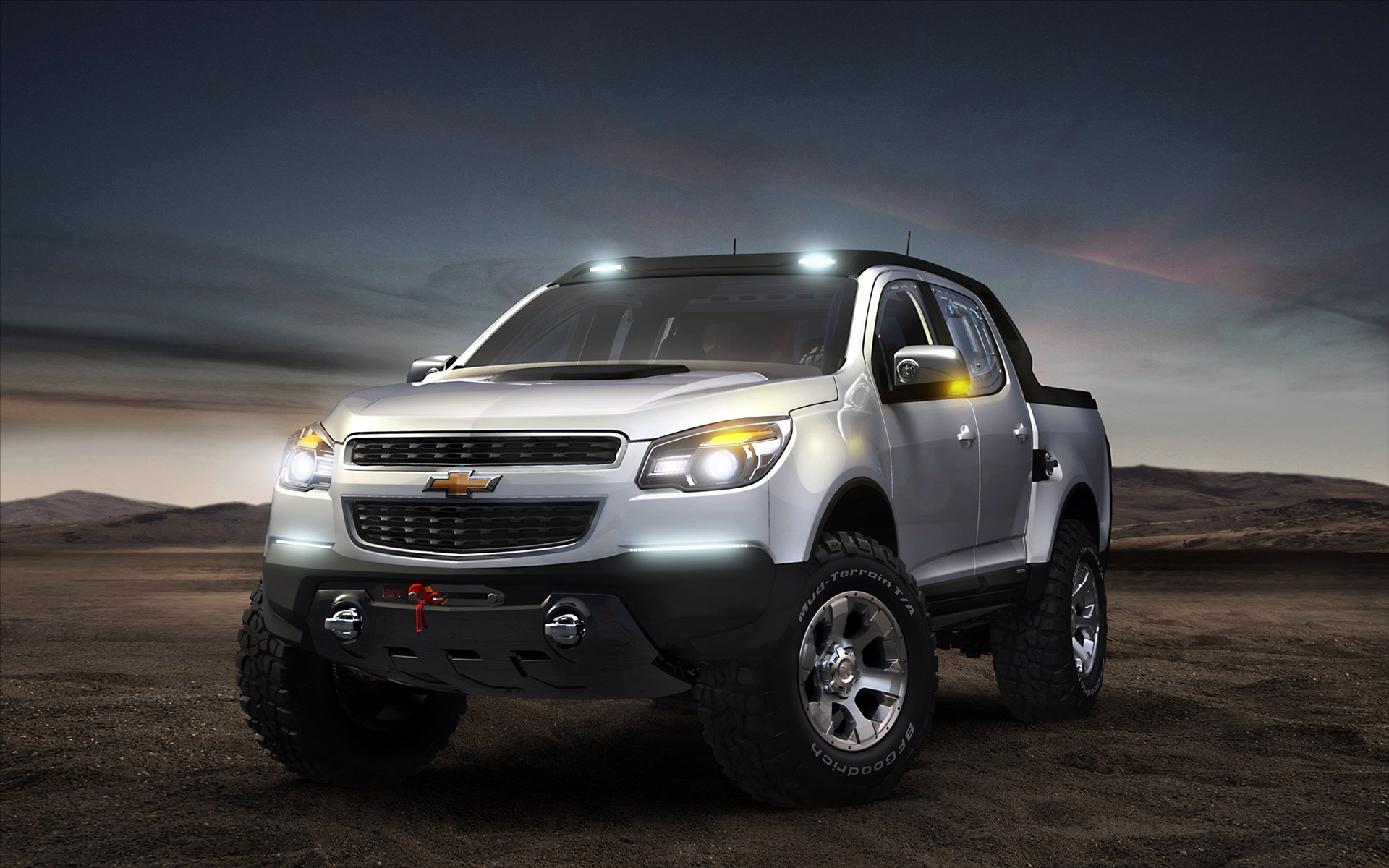 Chevrolet Colorado Rally Concept Car 1270.69 Kb