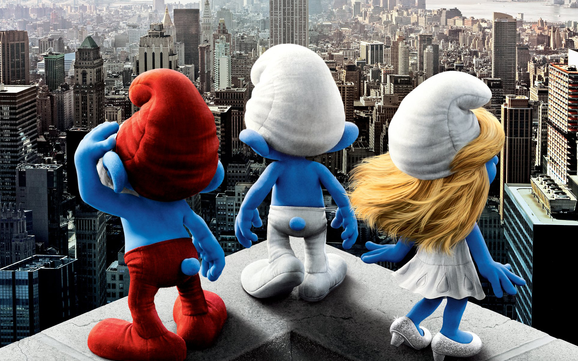 2011 Smurfs Movie