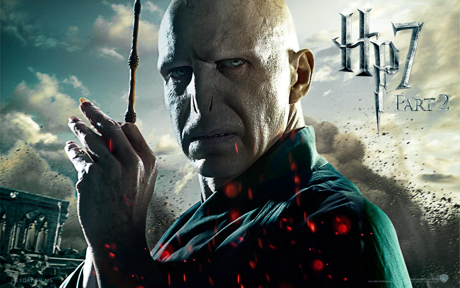 Lord Voldemort  in Deathly Hallows Part 2 1412.84 Kb