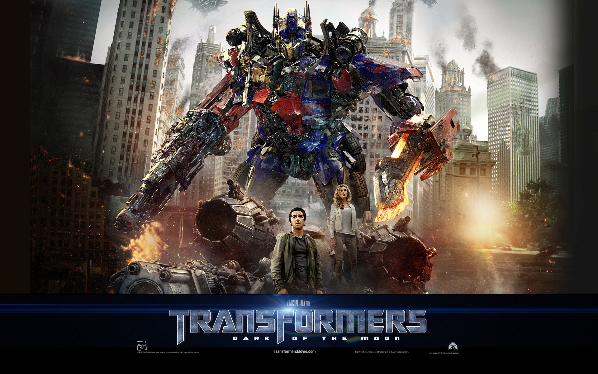 Optimus Prime Transformers 3 Dark of The Moon 1054.35 Kb