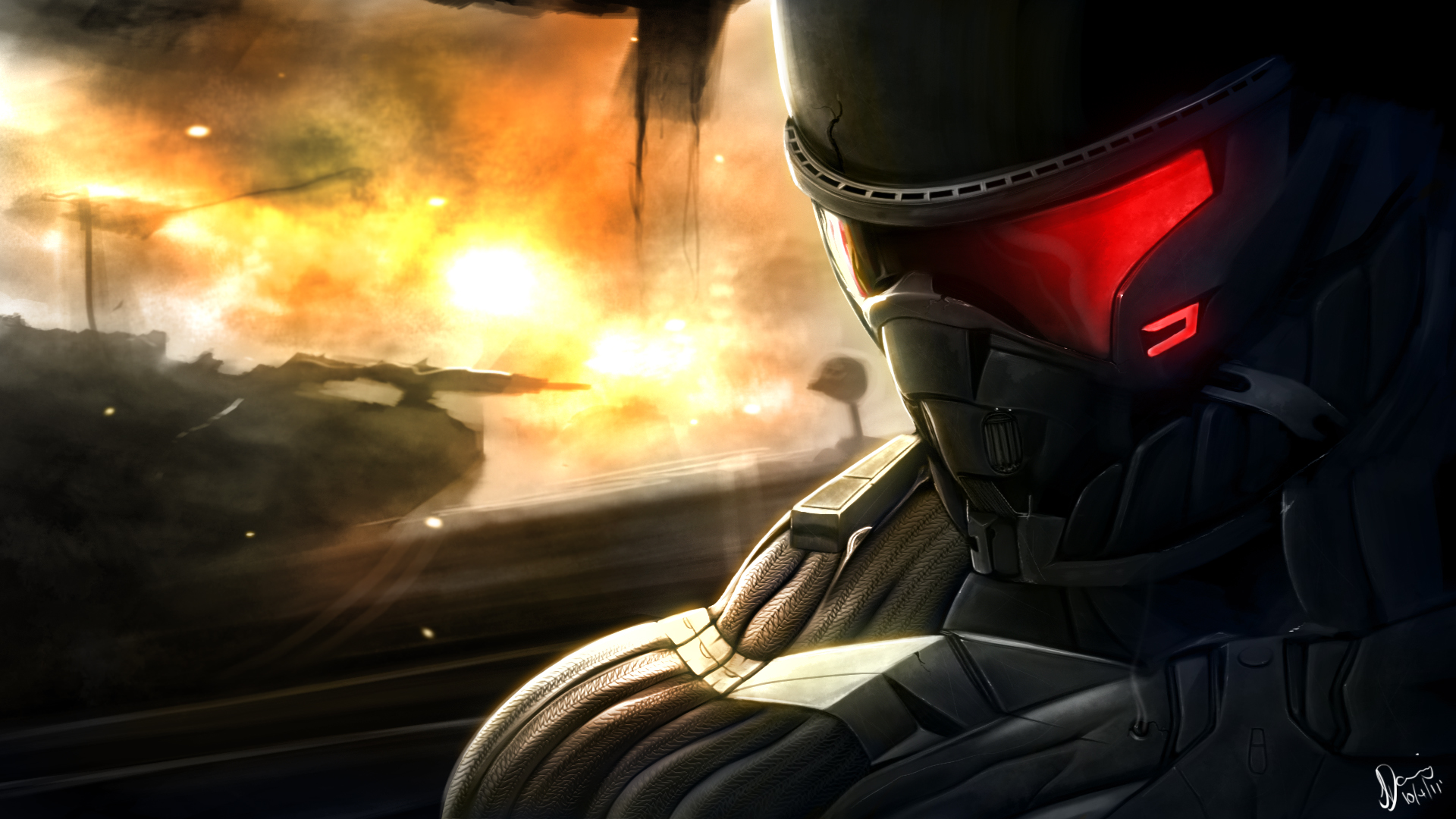 Crysis 2 Fan Art 1002.06 Kb