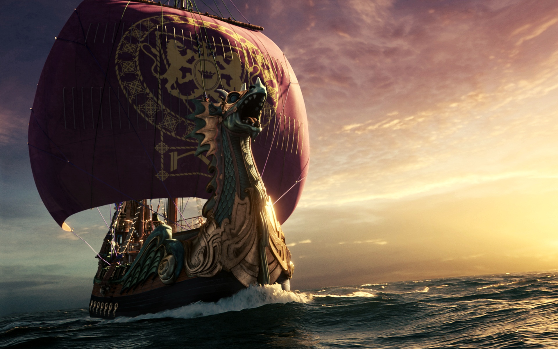 Narnia Dawn Treader Ship 1742.95 Kb