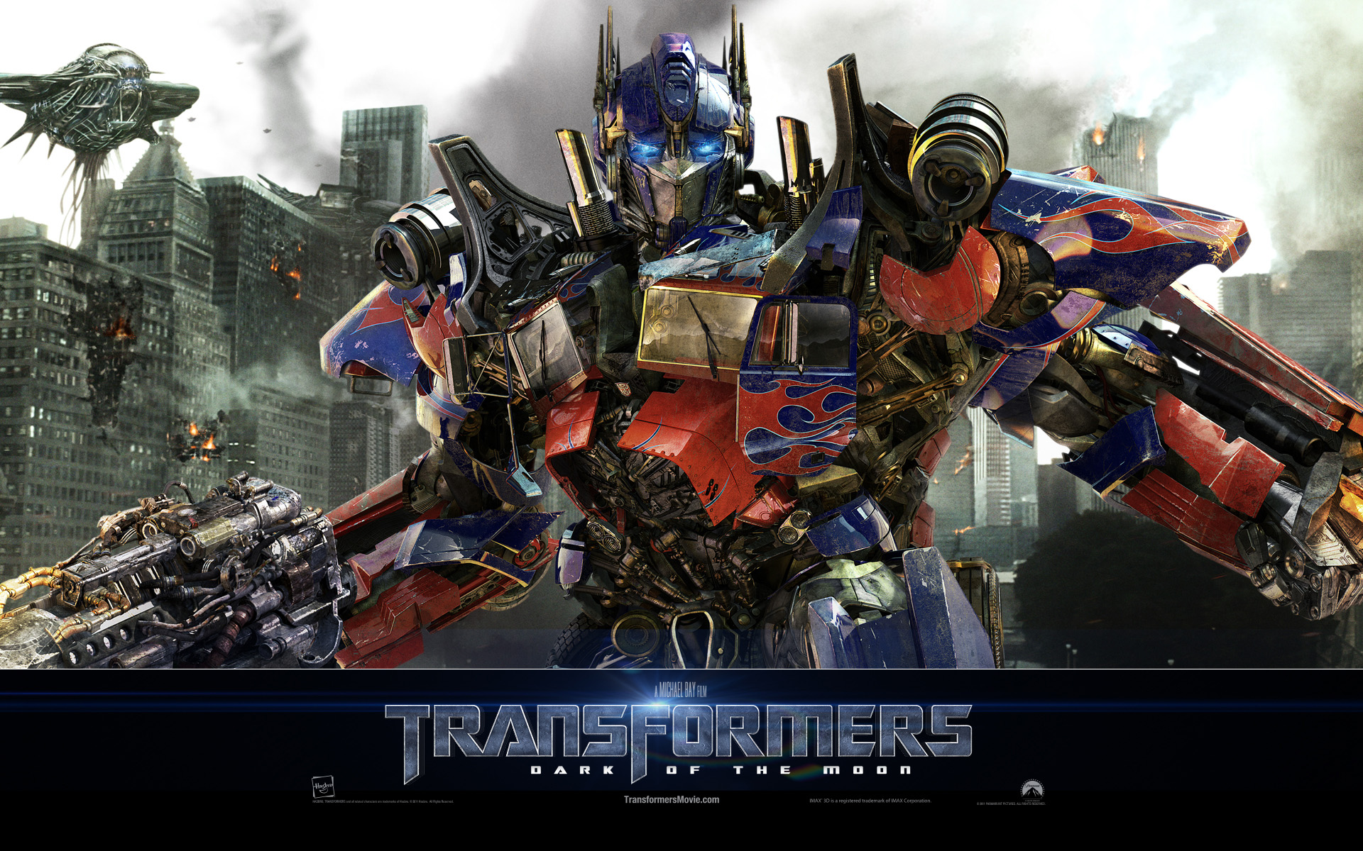 Optimus Prime TF3 High Resolution