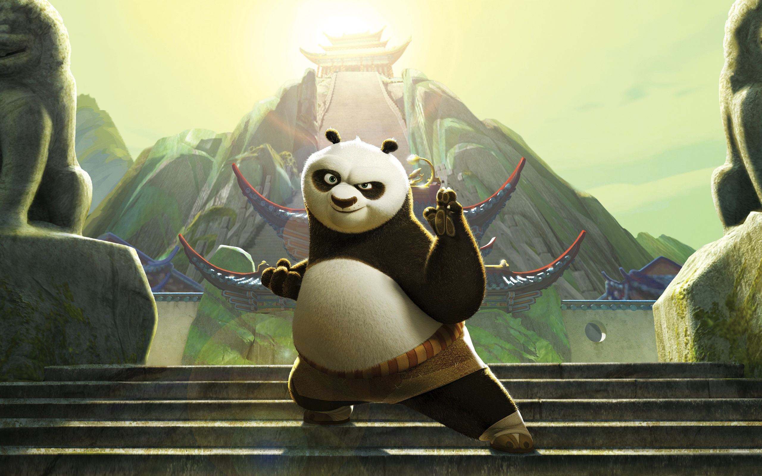 Kung Fu Panda 2 Movie 2011 349.3 Kb