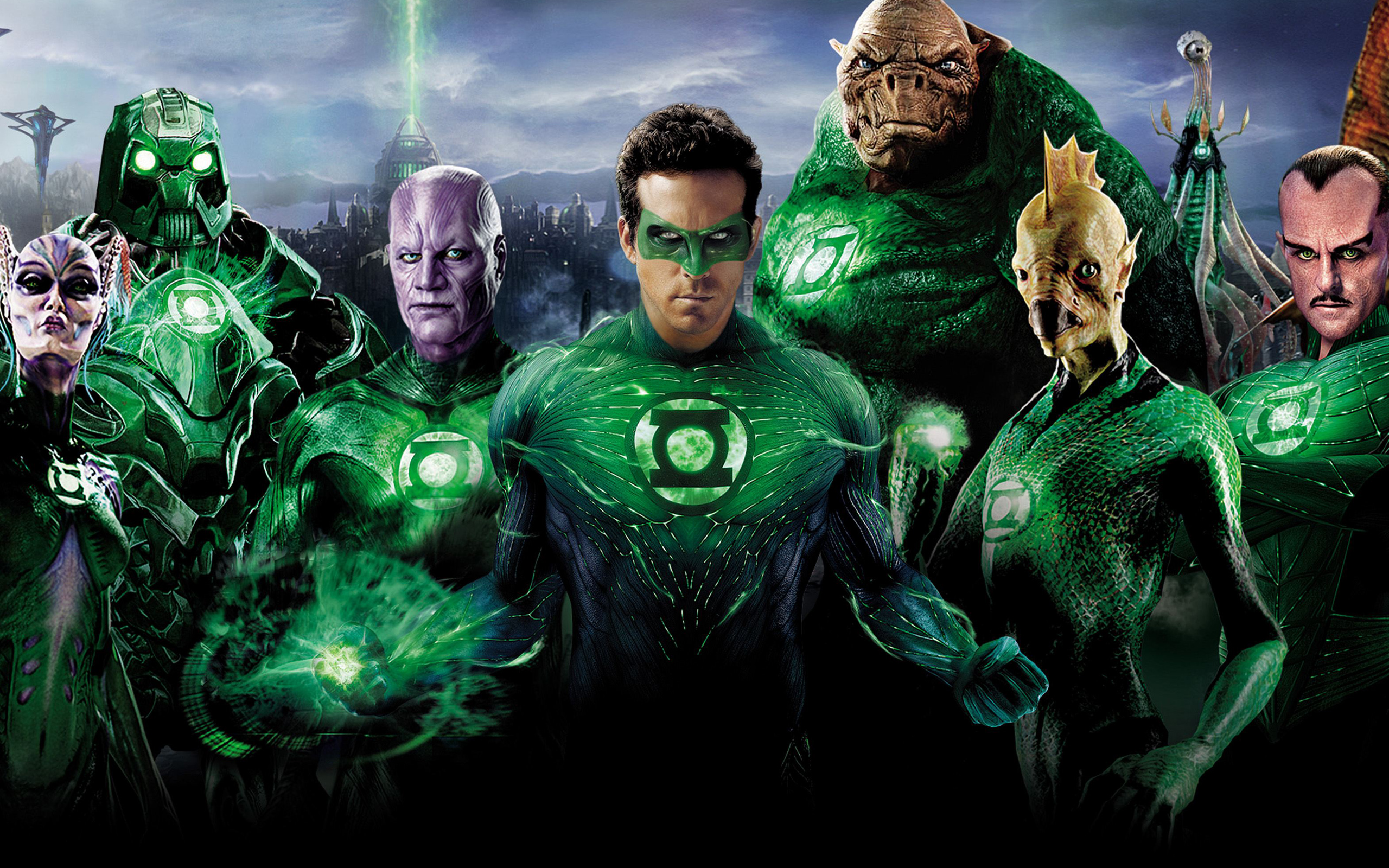 Green Lantern Superheroes 866.05 Kb