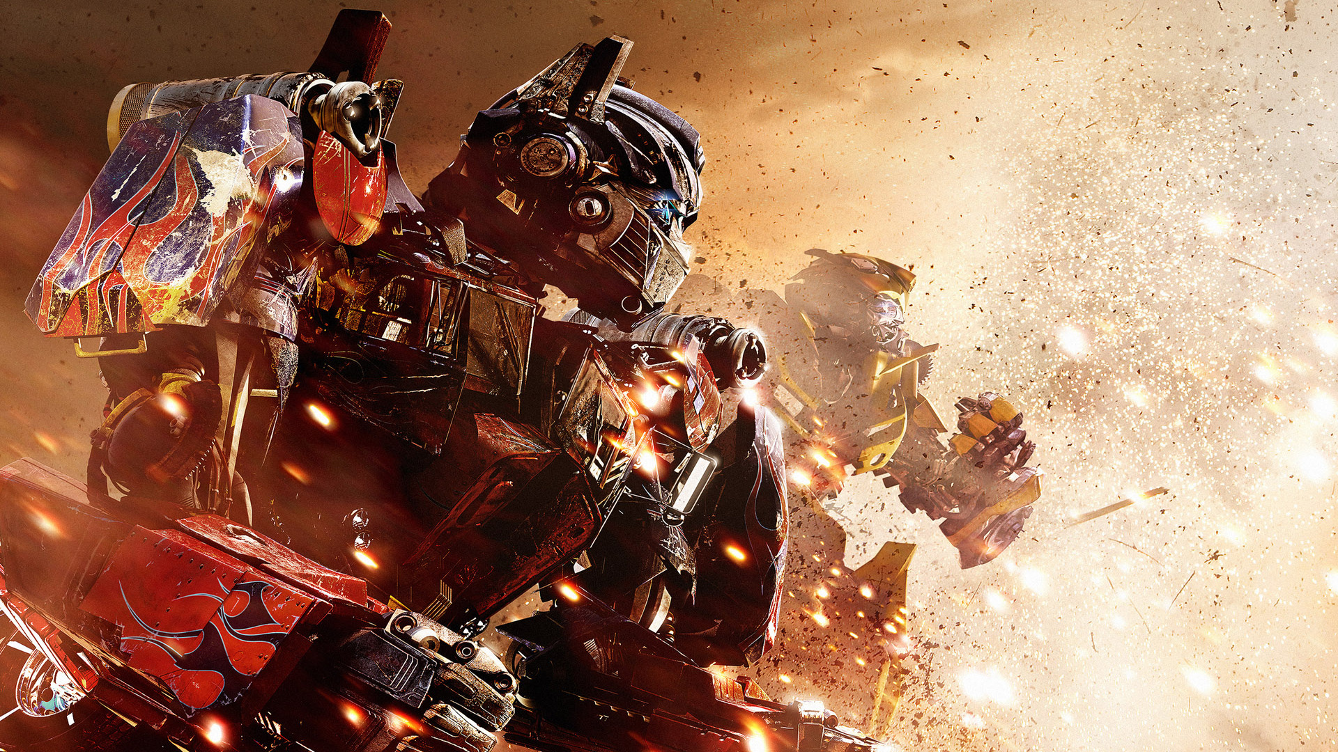 Optimus Bumblebee in Transformers 3