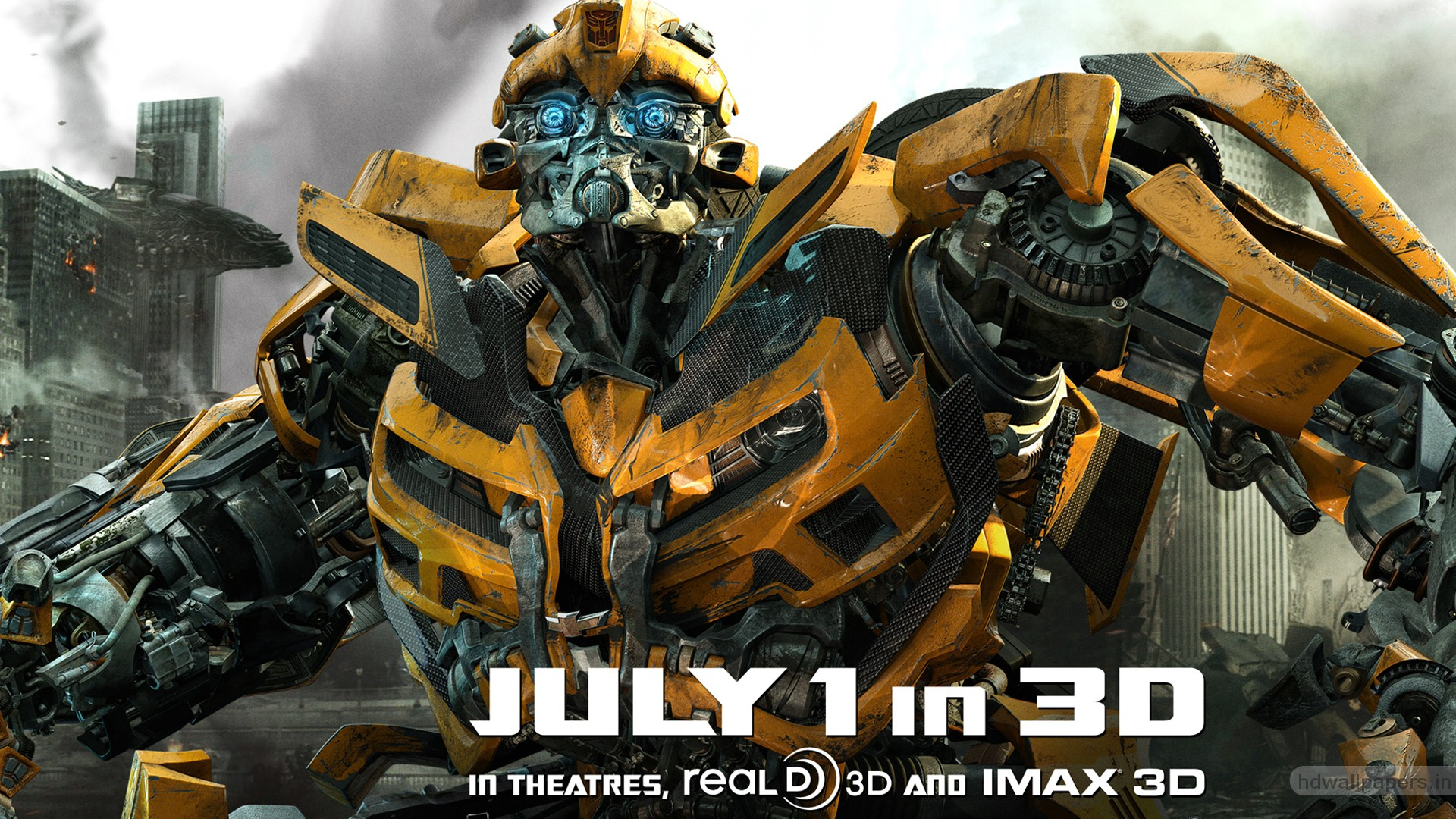 Bumblebee in New Transformers 3