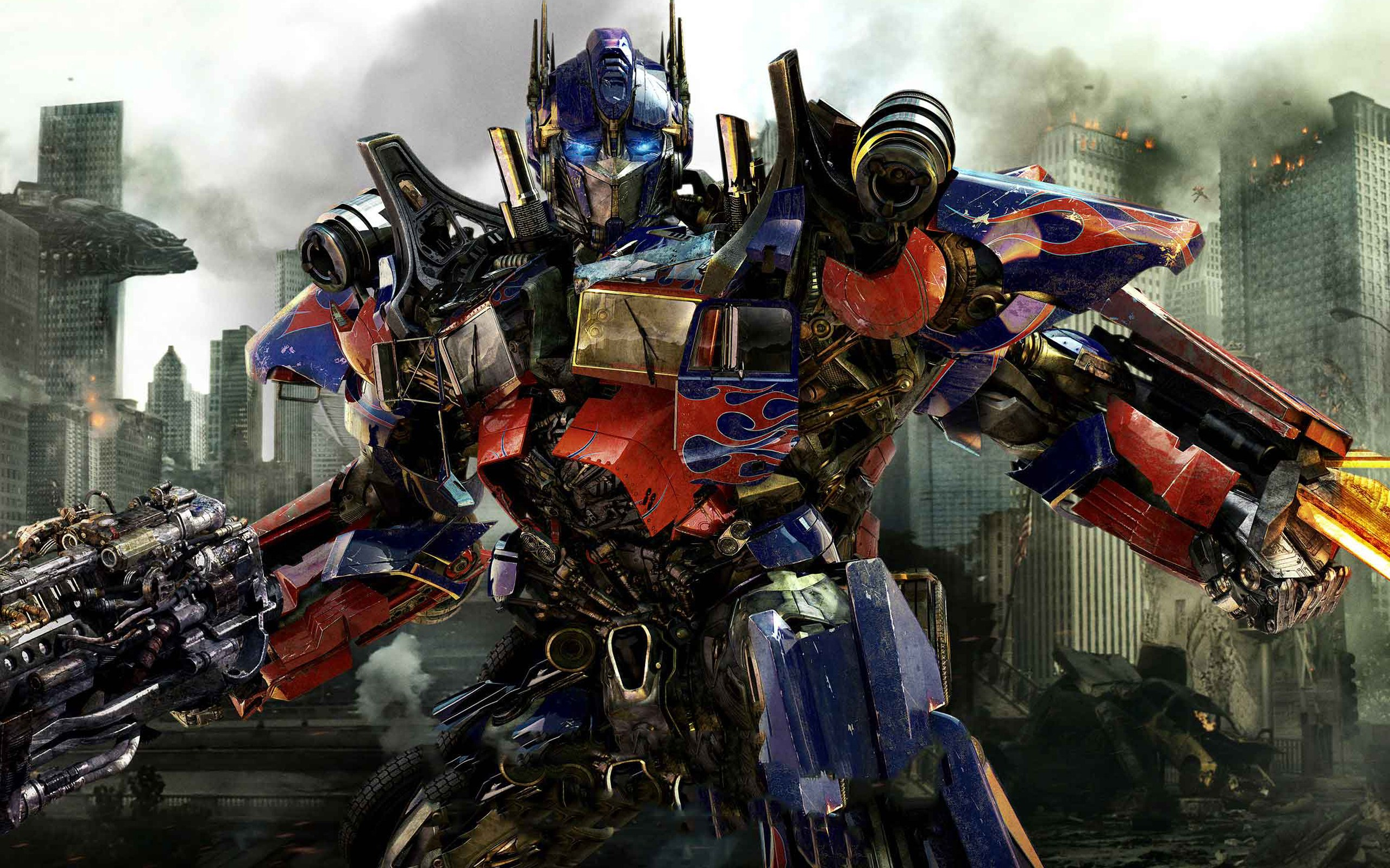 Optimus Prime in New Transformers 3 1447.74 Kb