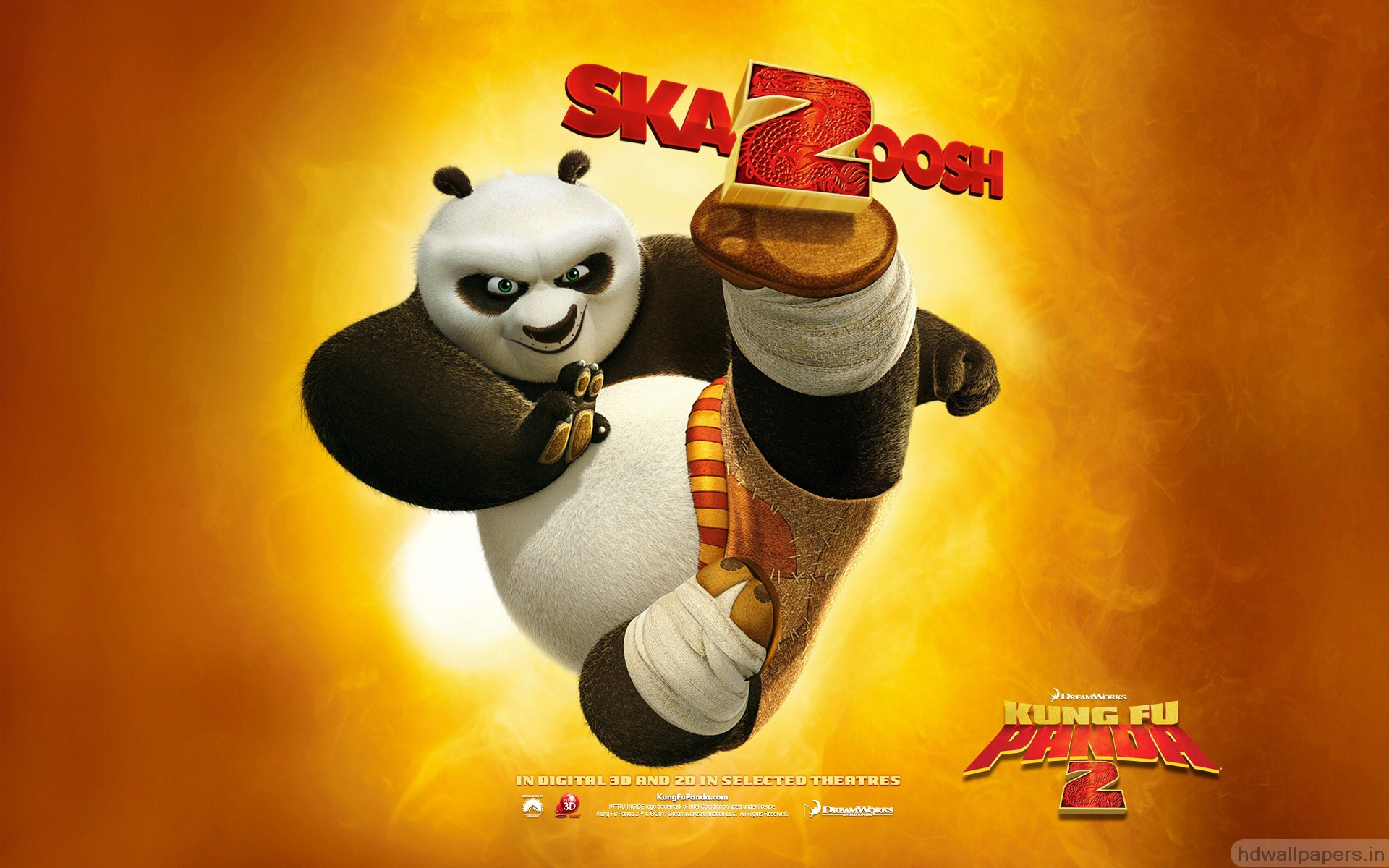 Awesome Kung Fu Panda 2 4181474 1920x1200 All For Desktop