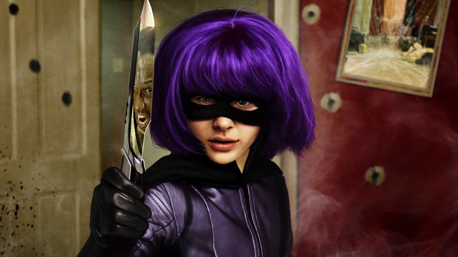 Hit Girl in Kick Ass