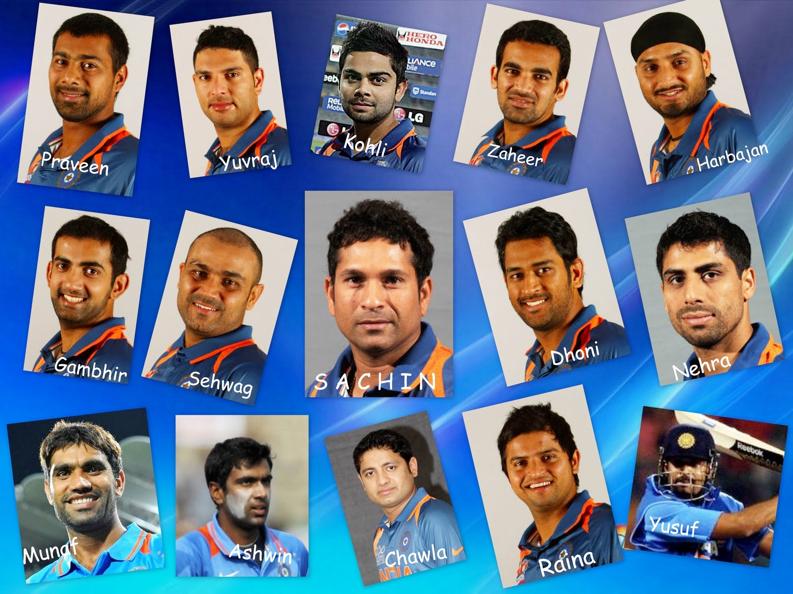 2011 Team India World Cup 667.03 Kb