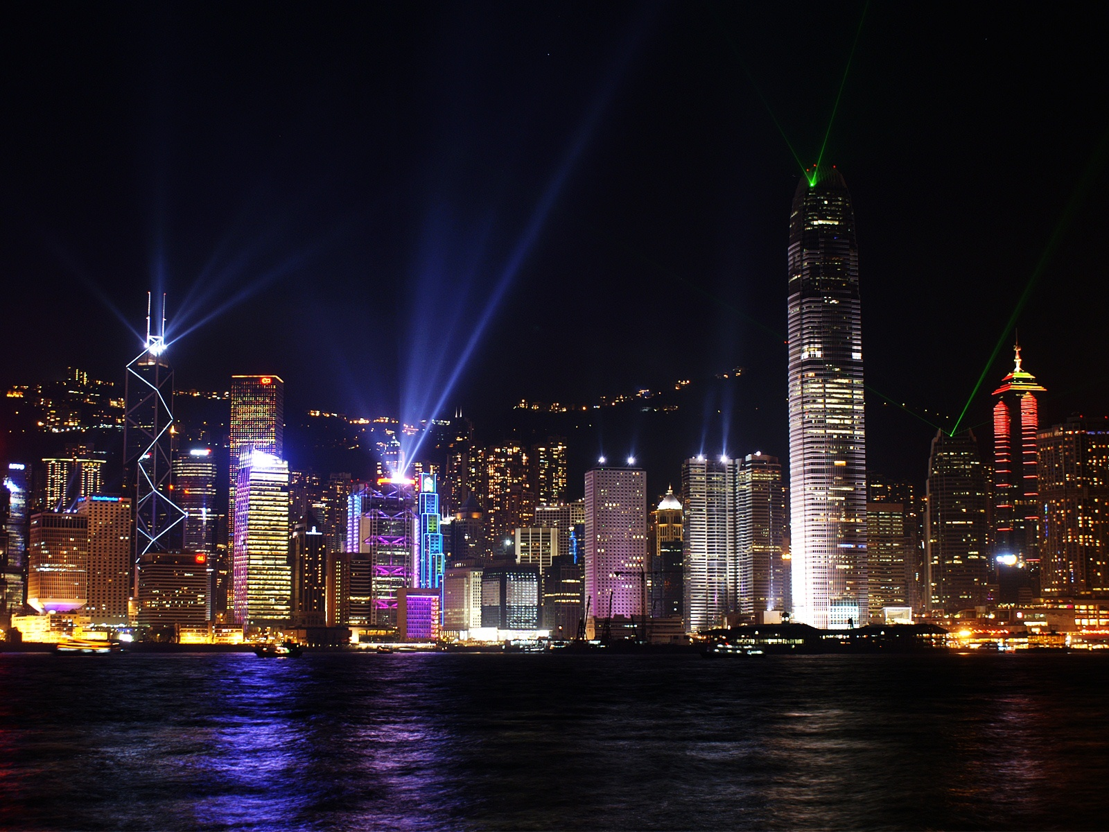 Hong Kong Skyline 470.06 Kb
