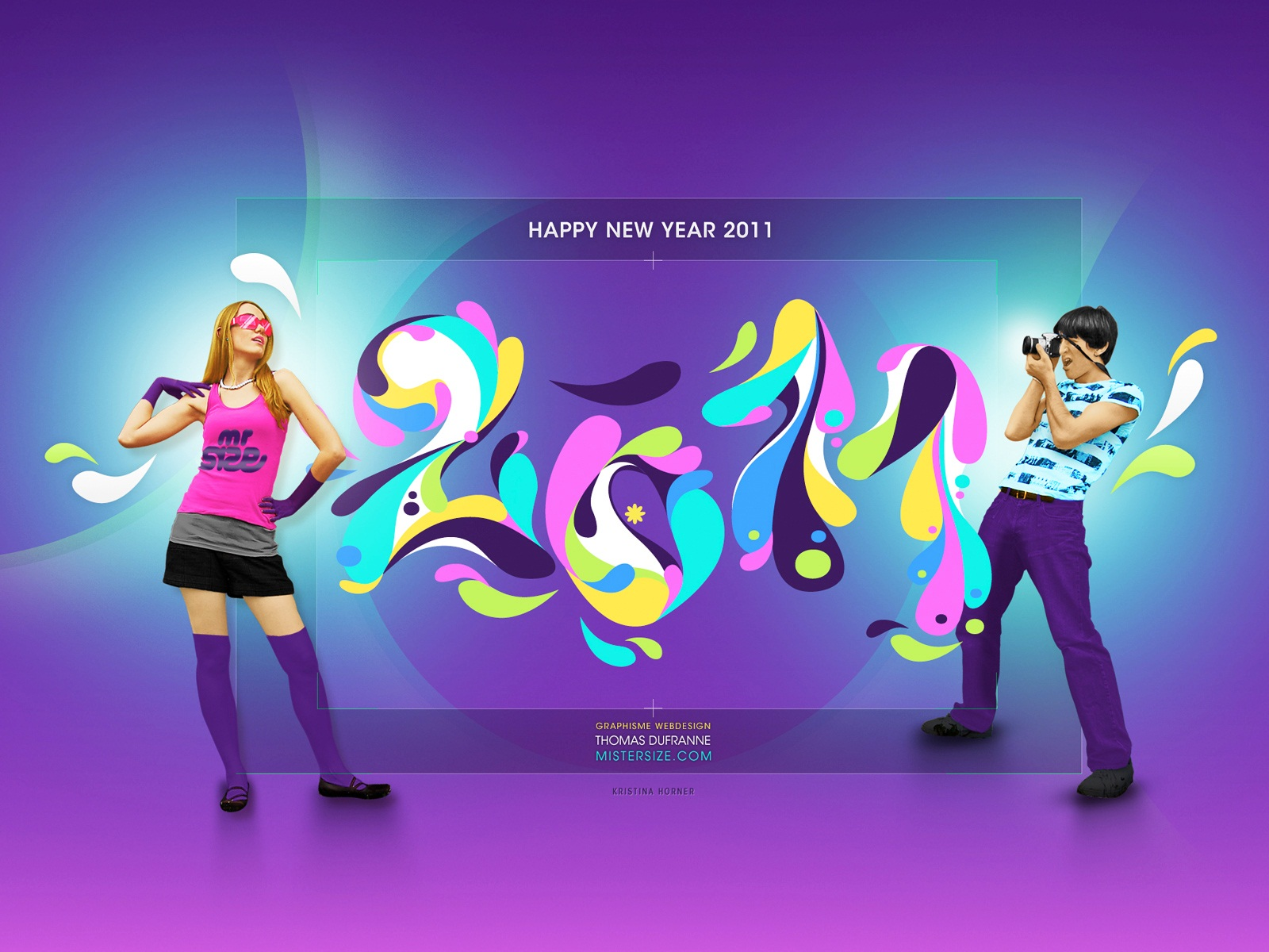 Happy New Year 2011 HD