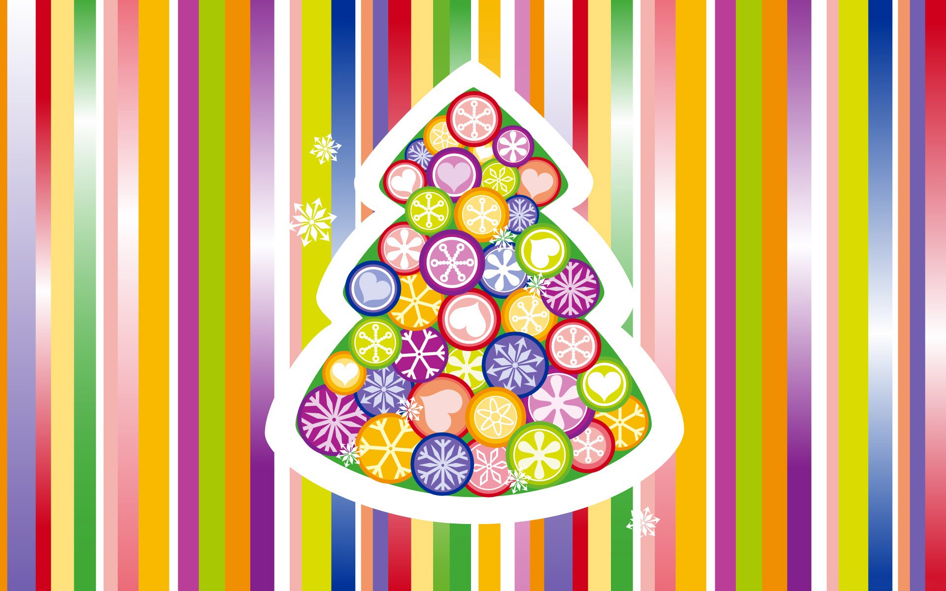 Christmas Tree Colorful 439.19 Kb