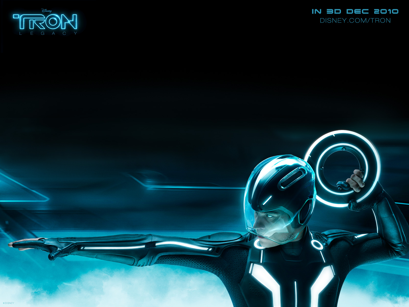 TRON Legacy Disney 3D Movie