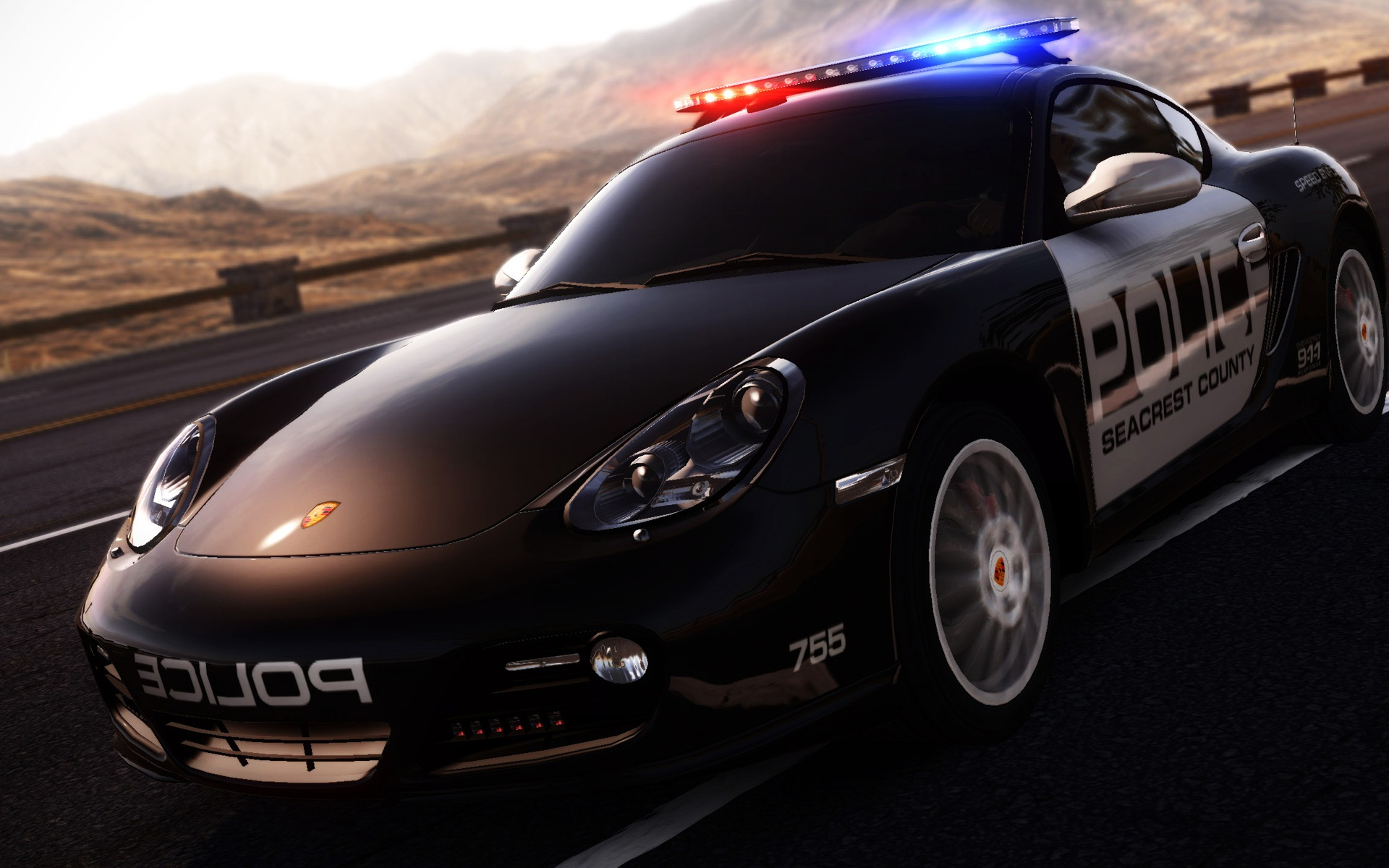 Porsche Cayman in NFS Hot Pursuit