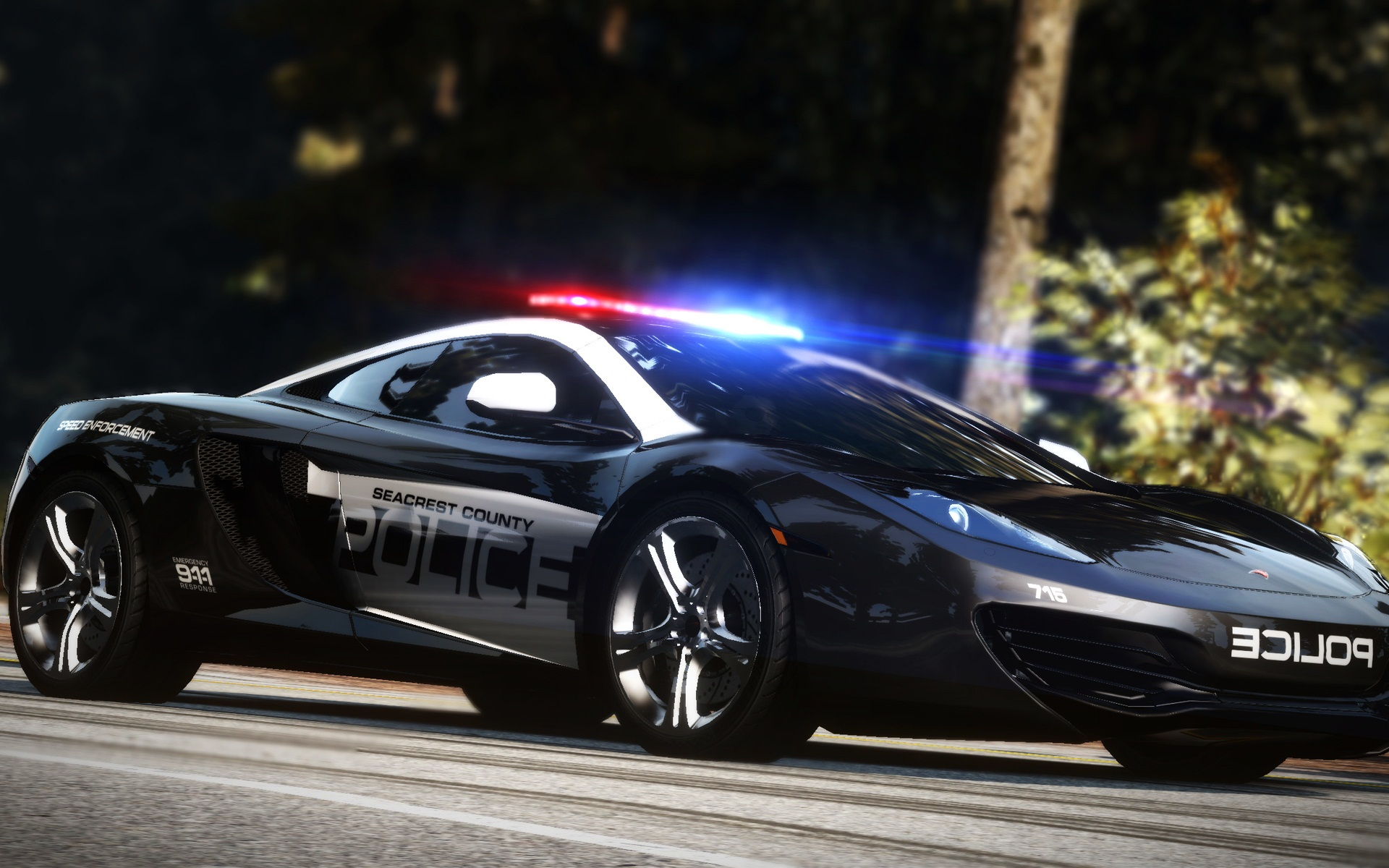 NFS Hot Pursuit Cop Car 302.08 Kb