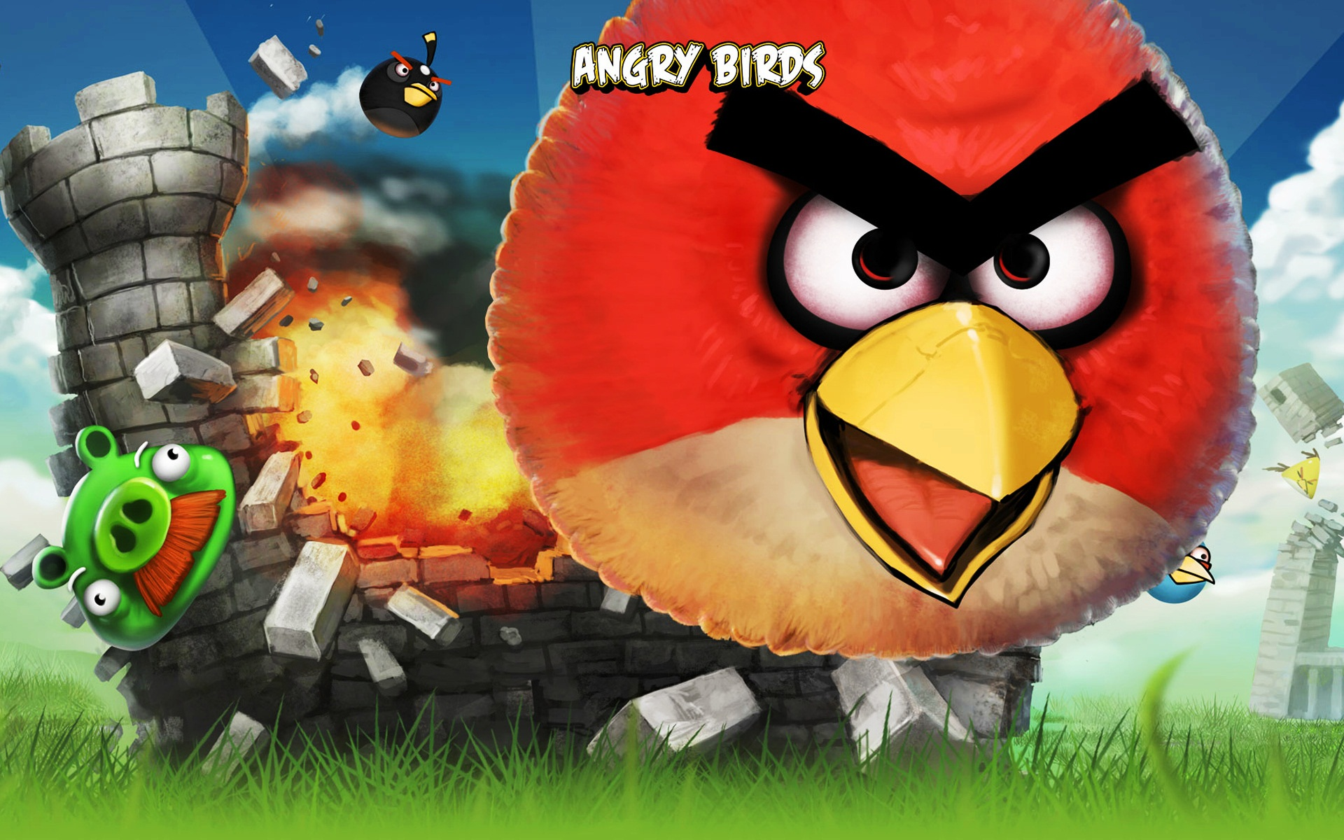 Angry Birds iPhone Game 114.65 Kb