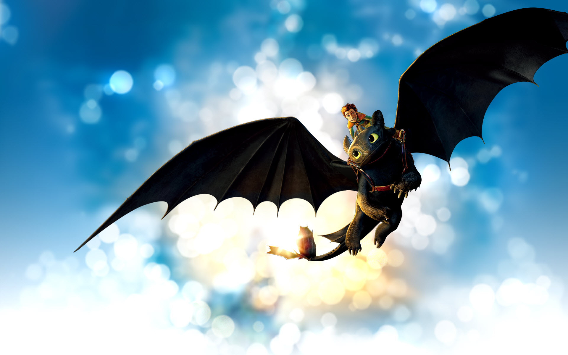 Japanese Hiccup Dragon Wallpaper 954.59 Kb