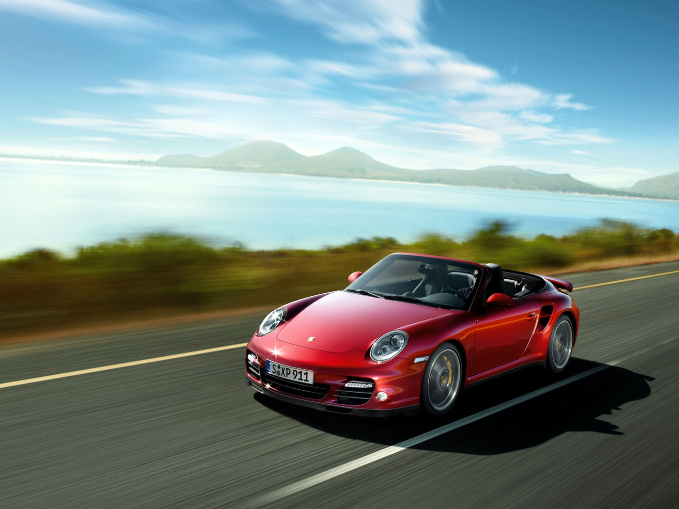 Porsche 911 Turbo Cabrio 169.38 Kb