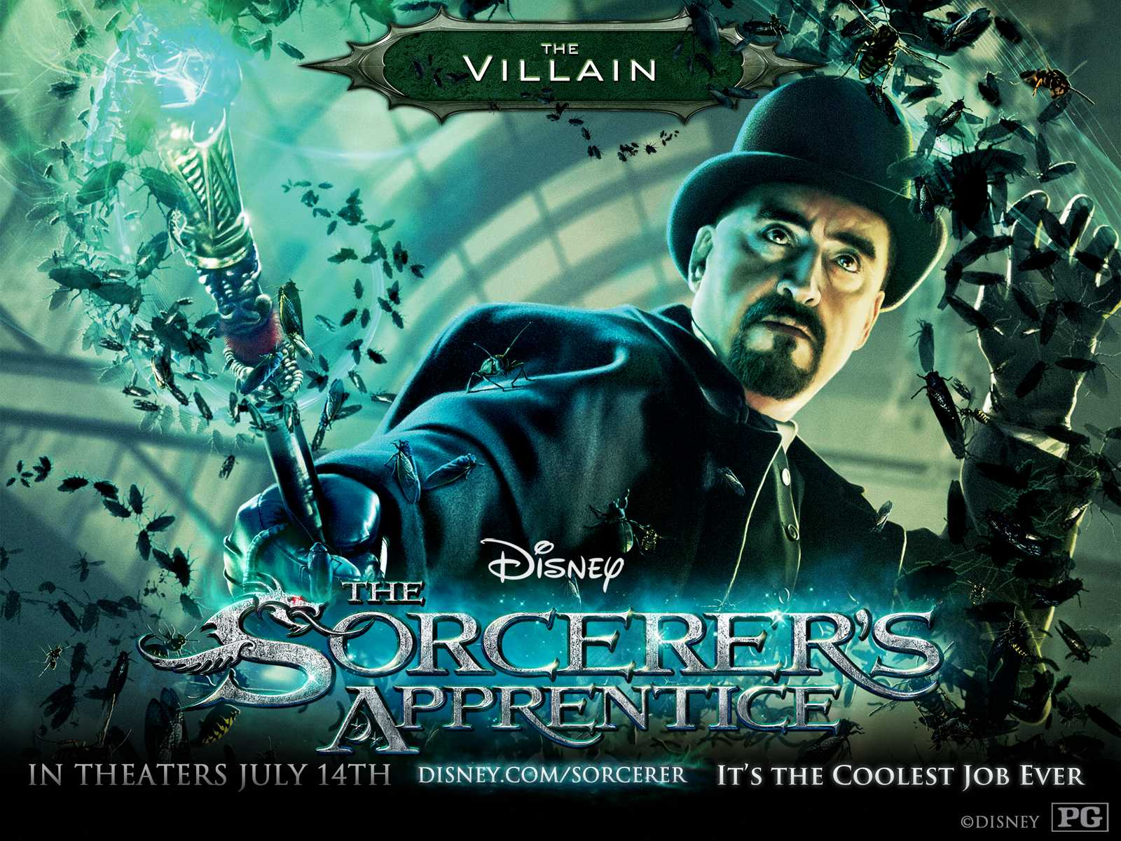 2010 The Sorcerers Apprentice Movie