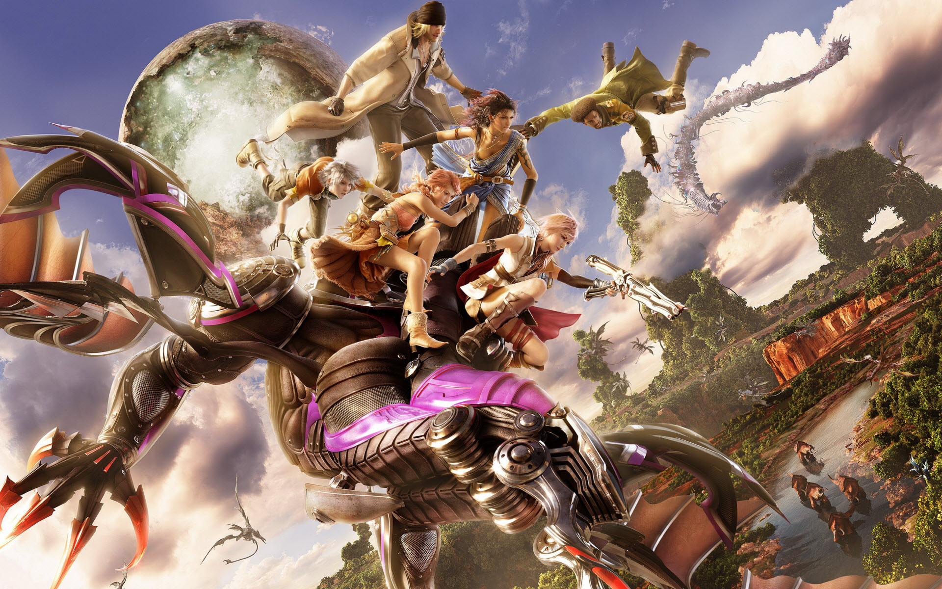 Final Fantasy XIII Game 388.21 Kb
