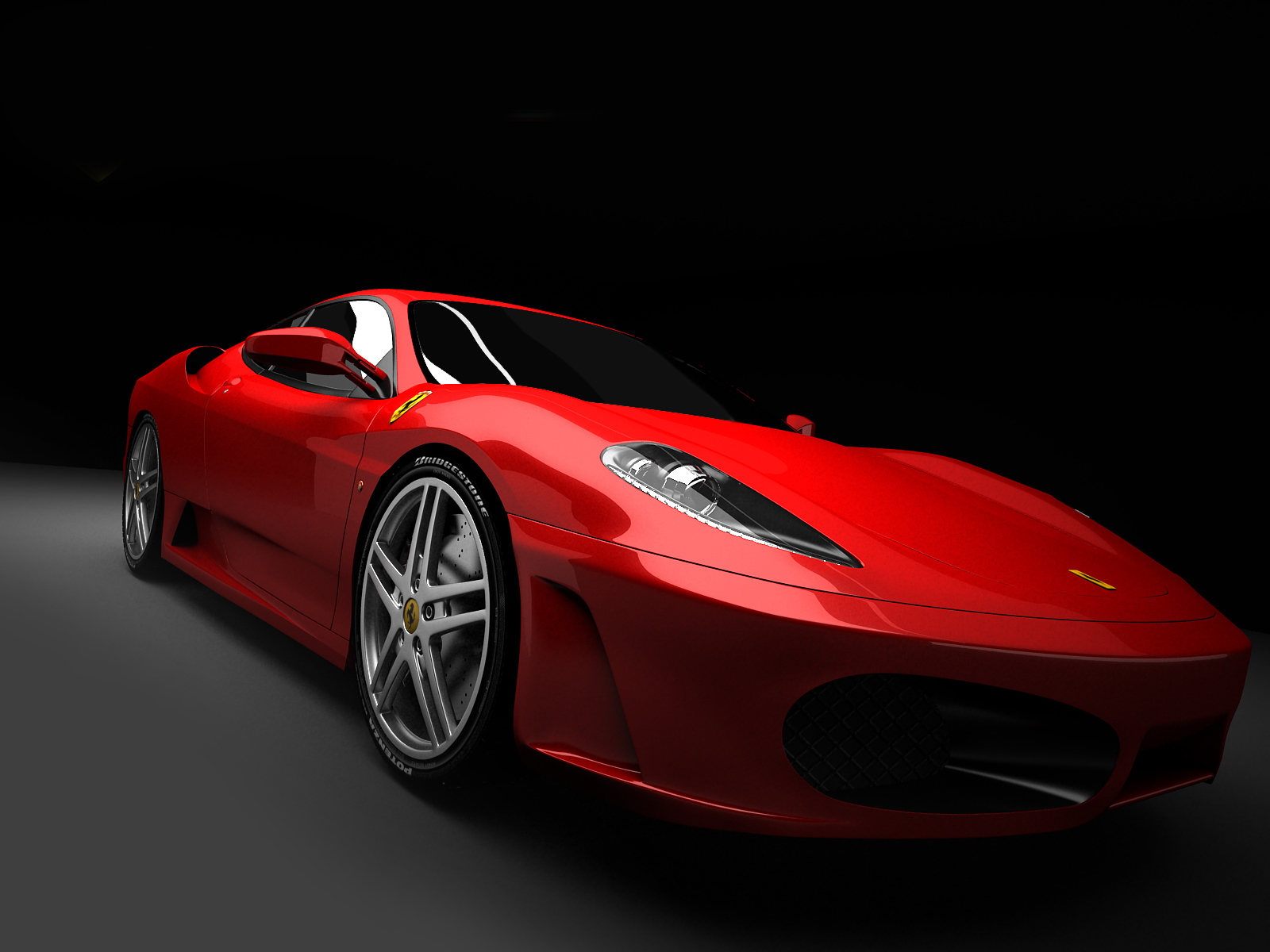 Ferrari F430 RED 1046.23 Kb