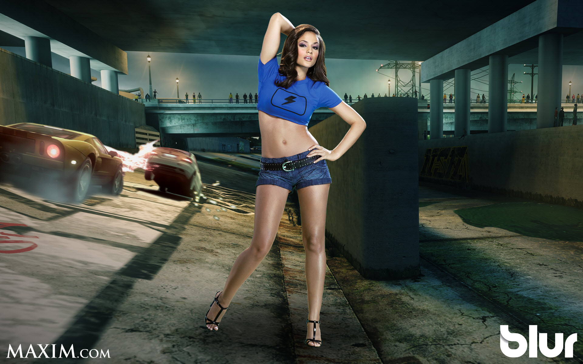 MAXIM Girl for Blur Game 367.19 Kb