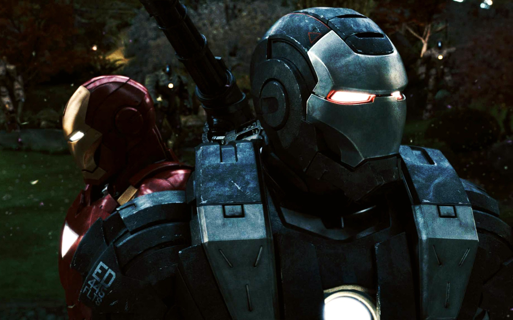 War Machine & Iron Man
