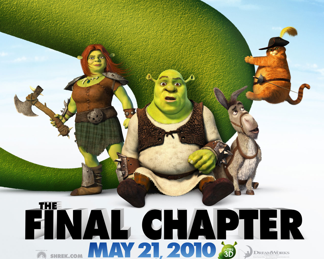 Shrek Forever After Official 445.63 Kb