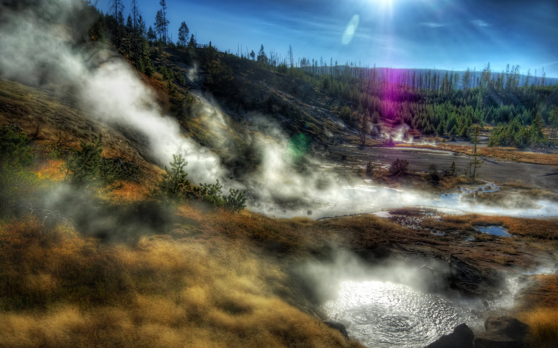 Yellowstone  National Park 401.59 Kb