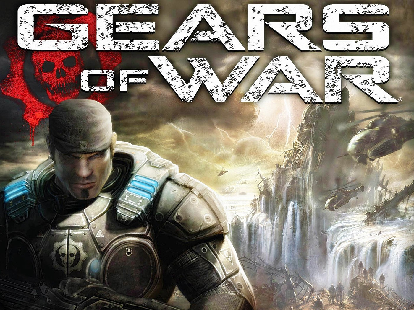 Gears of War DVD Cover 2463.1 Kb