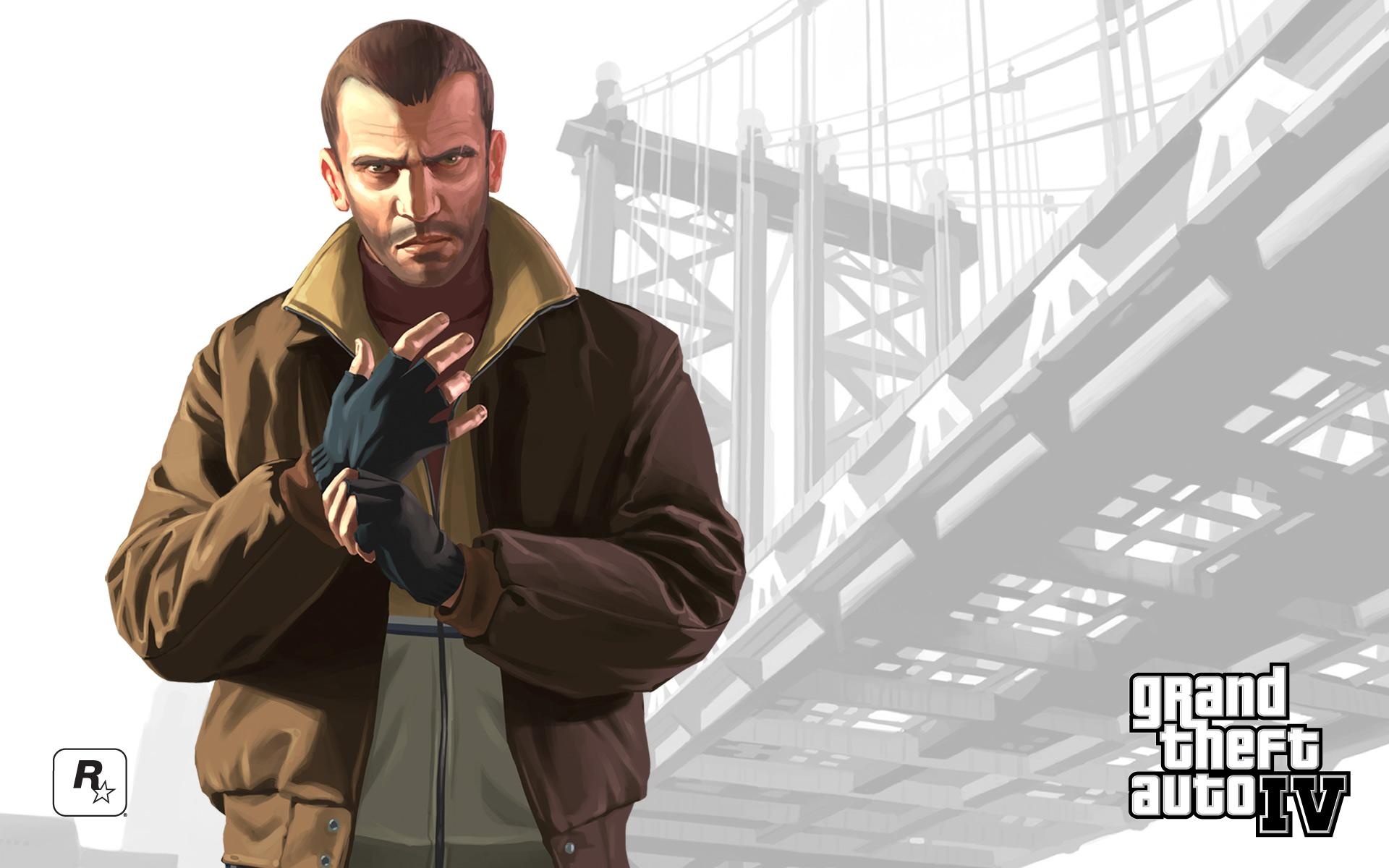 Niko Grand Theft Auto IV 160.01 Kb