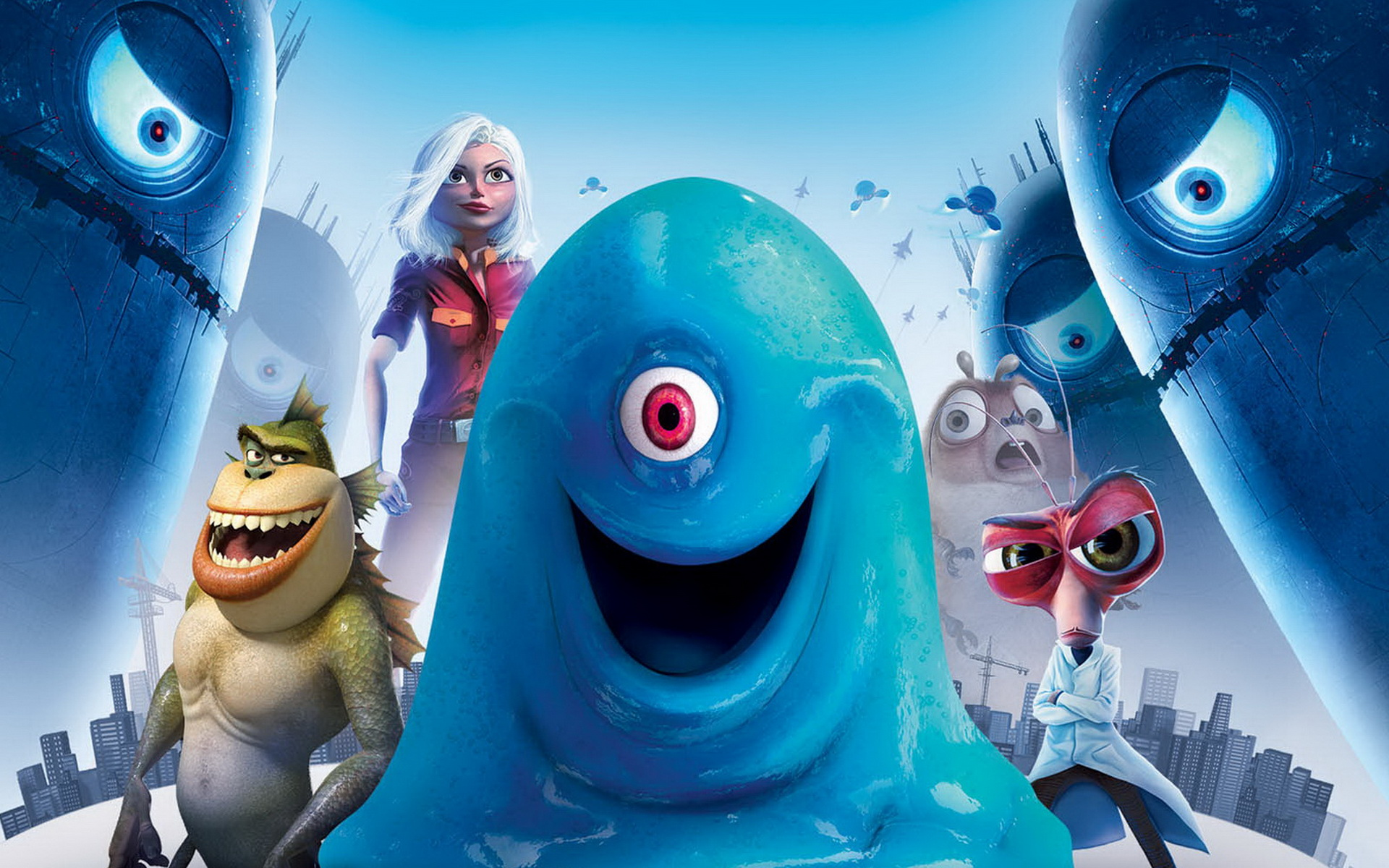 Monsters vs. Aliens 1038.87 Kb